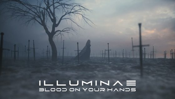 ILLUMINAE BLOOD ON YOUR HANDS